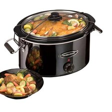 7 Quart Black Ice Slow Cooker