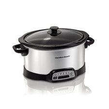 <strong>Hamilton Beach</strong> 5 Quart Slow Cooker