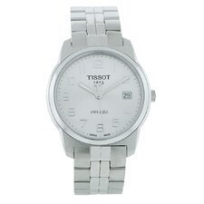 PR100 Tissot Men's Watch with Silver Dial