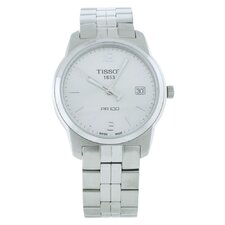 PR100 Tissot Men's Watch with Stainless Steel Bracelet