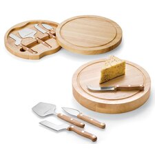 <strong>Picnic Time</strong> Circo Cheese Cutboard Set