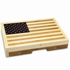 <strong>Picnic Time</strong> Old Glory Cutting Board