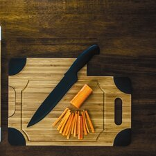<strong>Picnic Time</strong> Culina Cutting Board with Knife