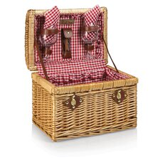 Chardonnay Wine Basket Set
