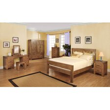 Santana Rustic Oak Bedroom Collection