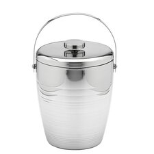 4 Qt Polished Groove Ice Bucket
