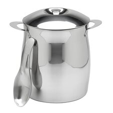 <strong>Kraftware</strong> 4 Qt Polished Stainless Steel Ice Bucket
