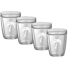 Palm Tree Everyday Tumbler (Set of 4)