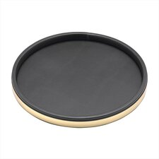 <strong>Kraftware</strong> Sophisticates Deluxe Round Serving Tray