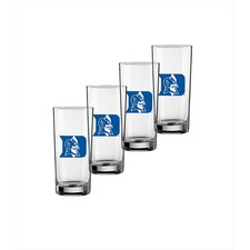 Collegiate 16 oz. Duke Glass (Set of 4)