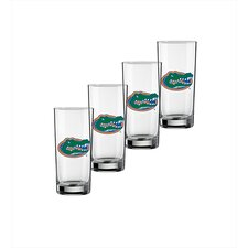 Collegiate Florida Gator 16 oz. Glass (Set of 4)