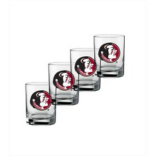 Collegiate Florida State 14 oz. Glass (Set of 4)