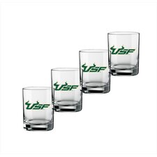 Collegiate 14 oz. Glass (Set of 4)