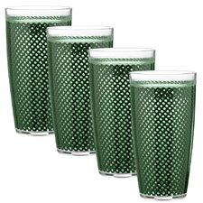 Fishnet 24 Oz Double Wall Drinkware (Set of 4)