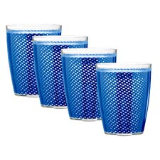 <strong>Kraftware</strong> Fishnet Doublewall Drinkware (Set of 4)