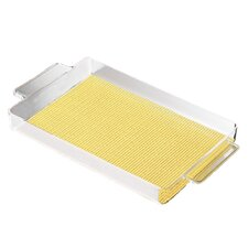 "<strong>Kraftware</strong> Fishnet 20"" Rectangular Serving Tray"