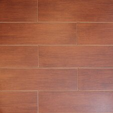 "Northwest Series 18"" x 6"" Porcelain Tile in Fir"