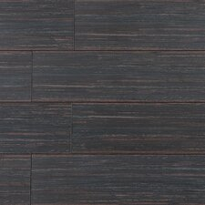 "Bamboo Series 24"" x 6"" Porcelain Tile in Bamboo Brown"