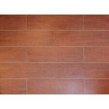 "Northwest Series 6"" x 18"" Porcelain Tile in Fir"