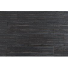 SAMPLE - Bamboo Series Porcelain Tile in Bamboo Black