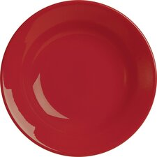 Fun Factory Soup Plate in Polka Red