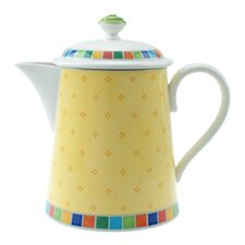 Twist Alea Limone 1.25L Premium Porcelain Coffee Pot in Multicolour