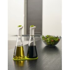 Flo Oil and Vinegar Drizzler Set in Green
