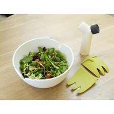 "Hands-On 11"" Salad Bowl and Servers"