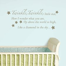 Twinkle, Twinkle Baby Wall Wishes Decal