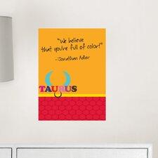 Jonathan Adler Dry Erase Taurus Board Wall Decal