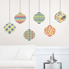 <strong>WallPops!</strong> Jonathan Adler Lanterns Wall Art Kit