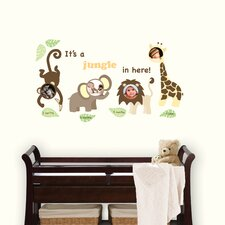 <strong>WallPops!</strong> Art Kit Jungle and Friends Photo Frame Wall Decal