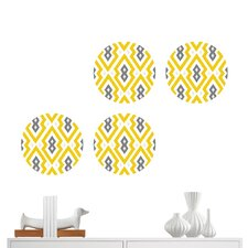 Jonathan Adler Aztec Diamond Dot Wall Decal