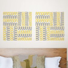 Jonathan Adler Aztec Diamond Blox Wall Decal