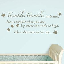 Baby Twinkle, Twinkle Wishes Wall Decal
