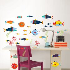 Art Kit Fish Tales Wall Decal
