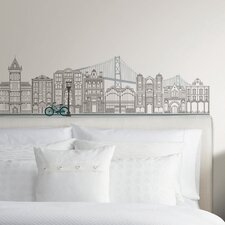 Art Kit Globe Trotter Small Wall Decal