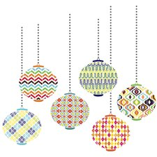 Jonathan Adler Lanterns Wall Art Kit