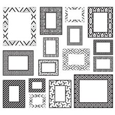 Jonathan Adler Frame Wall Art Kit