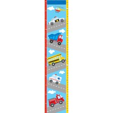 Wall Art Kit Transportation Growth Chart