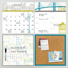 Wall Art Globe Trotter Organization Kit
