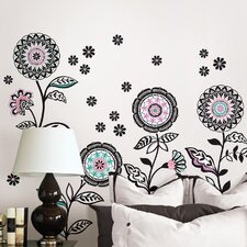 Wall Art Floral Medley Large Wall Decal Kit