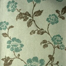 <strong>Brewster Home Fashions</strong> Savoy Floral Trail Wallpaper