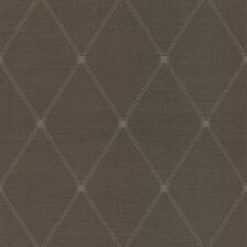 <strong>Brewster Home Fashions</strong> Joseph Abboud Designed Diamond Harlequin Wallpaper