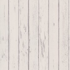 Destinations by the Shore Weathered Wood Plank Wallpaper