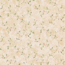 <strong>Brewster Home Fashions</strong> Northwoods Berry Trail Wallpaper