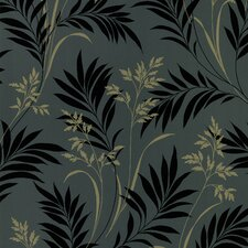<strong>Brewster Home Fashions</strong> Ink Grass Wallpaper
