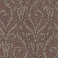 <strong>Brewster Home Fashions</strong> Serene Medusa Scroll Wallpaper
