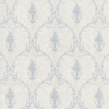 <strong>Brewster Home Fashions</strong> Mirage Signature V Sweet Urn Ogee Wallpaper