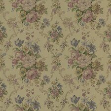 <strong>Brewster Home Fashions</strong> Mirage Signature V Harlequin Floral Scroll Wallpaper